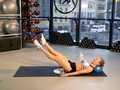 7 moves to tighten your core from celebrity trainer Anna Kaiser. | Health.com
