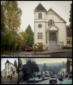 """Images from Hallmark's move """"The Christmas Card"""" downtown Nevada City locations.  Photos by Erin Thiem/Outside Inn"""