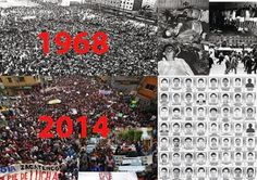IGUALA y TLATELOLCO, crímenes de lesa humanidad, lo que los une y lo que los separa.