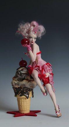 Cherry a la mode by Nicole West
