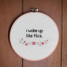 We Can Make Anything: How To // Cross-Stitch (plus template!)