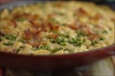 Apple Bacon Mac and Cheese, gluten free. Wow this is outstanding.