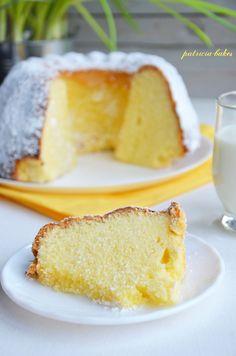 Cake Recipes, Dessert Recipes, Kinds Of Pie, Loaf Cake, Bundt Cakes, Coconut Cookies, Polish Recipes, Angel Cake, Russian Recipes
