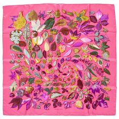 "HERMÈS, silk scarf, ""Tourbillons"""