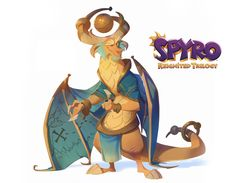 We're two weeks away! And I'm officially allowed to share this exclusive full look at Lucas, one of the Magic Crafter dragons I had the opportunity to reimagine for the upcoming Spyro: Reignited Trilogy. As the keeper of certain secrets I thought it Spyro Characters, Fantasy Characters, Cartoon Characters, Game Character, Character Concept, Concept Art, Character Design, Character Sheet, Character Ideas