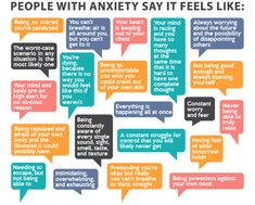 You might be surprised by some of these symptoms of anxiety!