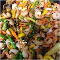 Put a little twist in your stir fry with some spicy shrimp! This spicy shrimp stir fry is sure to be a family favorite! Yum!