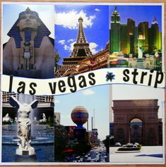 Image result for las vegas scrapbook layout ideas