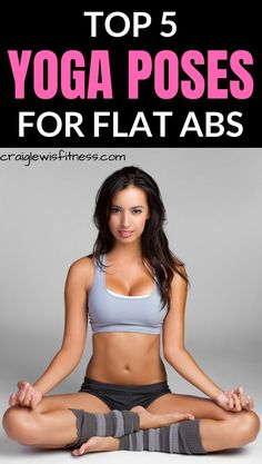 e42c9530c0 Looking for a way to see your six pack ab muscles  These easy yoga poses  for flat abs are a great place to start.