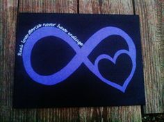 """infinite love. totally want Mike to go """"all in"""" and get a couples tattoo with me.. so far, not happening."""