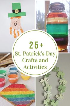 Getting an early start with this round up of 22 St. Patrick& Day Crafts and Activities for Kids that are sure to bring in the festivities next month! St Patrick's Day Crafts, Crafts For Kids To Make, Decor Crafts, Diy And Crafts, Kids Crafts, Stick Crafts, Strip Steak, Irish Dinner, Rainbow Project