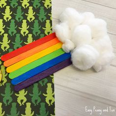 We're sharing another colorful rainbow craft, this time we are making a craft sticks rainbow craft! This is a wonderful St. Patrick's day craft or a fun colorful spring craft for kids to do. Or just a craft to make when you want a splash of color in your life. Craft Sticks Rainbow Craft What …