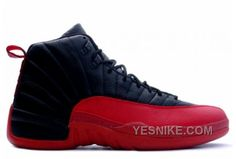 Jordan Shoes Air Jordan 12 Retro Black Varsity Red  Air Jordan 12 - Fine  craftsmanship with premium materials like a smooth leather 7cc8a575f774a