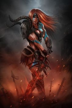Diablo III Barbarian by el-sharko on DeviantArt