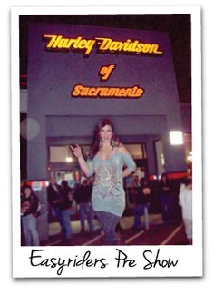 Give me a microphone and I'll sing! Here at Harley Davidson of Sacramento!