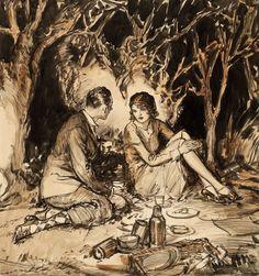 Художник иллюстратор Henri Patrick Raleigh - Неспящие в Торонто