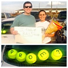 #Promposal.   For a softball player