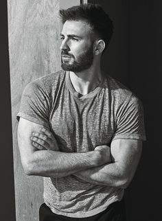 Chris Evans by Mario Sorrenti for W Magazine • 2016