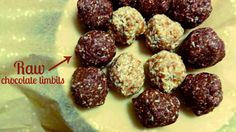 #raw #chocolate #donut holes from Baking Backwards blog! Healthy, nut-free, gluten-free naturally sweet snacking!