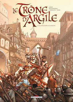 Preview Trône d'Argile (Le) 1. Le Chevalier à la hache