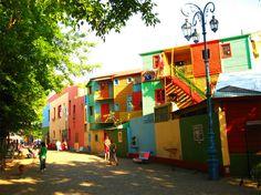 Caminito Boca Buenos Aires Argentina