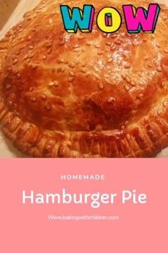 Quick Easy Dinner, Easy Dinner Recipes, Easy Meals, Hamburger Pie, Quick Family Dinners, Homemade Hamburgers, Midweek Meals, Baking With Kids, Homemade Pie
