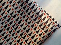 Geometric pattern Hand Block prin soft cotton - 0.50 yard 44''width Fabric 1 Yard Vegetable Natural Dye  Indian Ethnic Fabric