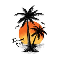 Palm tree cover up tattoo needed Sunset Tattoos, Up Tattoos, Future Tattoos, Tribal Tattoos, Sleeve Tattoos, Tattoos Skull, Stomach Tattoos, Palm Tree Sketch, Tree Sketches