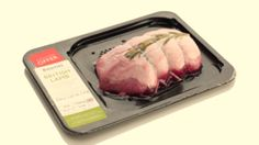 Rigid vacuum skin packs from Linpac drive meat sales for Booths