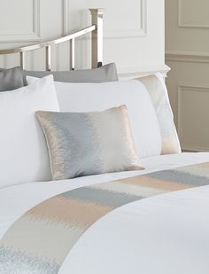 Bring Sophisticated Luxury To Your Home With Our Life From Coloroll Range The Quilted Fan Duvet Cover And Pillowcase Set In Gold Features A Stunni