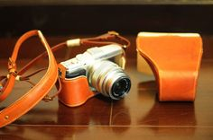 KAZA handmade leather camera full case camera bag for by nelisgood, $99.99