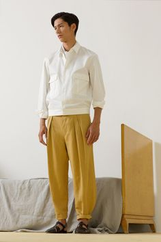 Paris Fashion Week (Menswear): Christopher Lemaire - Spring 2014