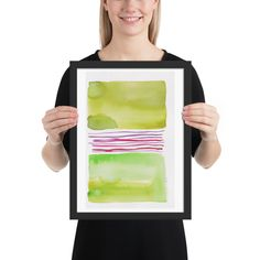 Lines & Color Block Series October 2018 Watercolor Sunset, Watercolor Art Paintings, Butterfly Watercolor, Watercolor Trees, Easy Watercolor, Watercolor Artists, Watercolor Pattern, Abstract Watercolor, Abstract Canvas