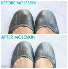 How To Add Moleskin To Your Tieks Ballet Flats To Prevent Leather Wear and a Tieks Toe Bump. - How To Add Moleskin To Your Tieks Ballet Flats To Prevent Leather Wear and a Tieks Toe Bump. Source by ruthv - Tieks Ballet Flats, Tieks Shoes, Ballet Flats Outfit, Clogs Outfit, Baby Boots, Mode Style, Moleskine, Me Too Shoes, Fashion Shoes