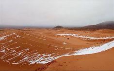 Χιόνισε στη Σαχάρα - Στους -3°C η θερμοκρασία