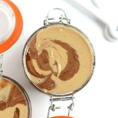 Chocolate Vanilla Swirl Cashew Butter - Fit Foodie Finds