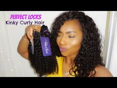 PerfectLocks: Kinky Curly Extensions| Initial Review - YouTube
