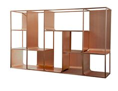 "From ""Copper view"" installation by Ferruccio Laviani"