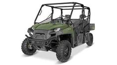 New 2016 Polaris Ranger Crew 570-6 Sage Green ATVs For Sale in Florida. 2016 Polaris Ranger Crew 570-6 Sage Green, RANGER Quality, Legendary Performance, and Unmatchable Utility Vehicle Value. Powerful 44 HP ProStar® EFI Engine to Take on Any Task. Seating and Cab Comfort for 6. The CREW 570-6 is built to work. Not only does it have the power and payload for large tasks, it features details that make it a part of the family of Hardest Working utility vehicles. For example it has grease…