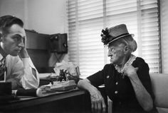 Not published in LIFE. Dr. Ceriani with a patient.