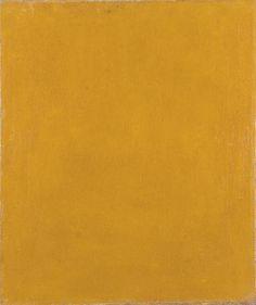 Constructivism painting: Alexander Rodchenko Pure Yellow Colour 1921