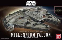 Millennium Falcon Model Kit Bandai | Star Wars Millennium Falcon Bandai. Figura:Millenium Falcon,Linha: Model Kit Bandai, Star Wars Bandai, Model Kit Bandai