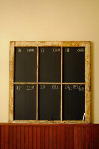 chalkboard/window   too cute!