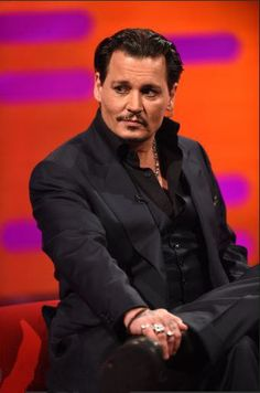 Johnny Depp on The Graham Norton Show (taped on 5/9/16 and aired on the BBC on 5/13/16).