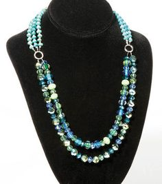 Blue and Green Bliss Jewelry Set
