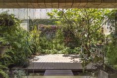 Jardín-Patio Casa 9 #Paisajismo #Exteriores Photo: @ontiveros by nonesarquitectura