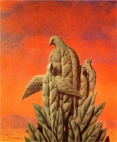 The natural graces - Rene Magritte