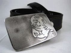 Deep Sea Explorer Belt Buckle  Etched Stainless by RhythmicMetal, $60.00