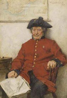 Walter Langley - The Chelsea Pensioner