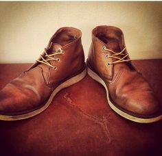 I need a pair of Chukkas for work during the hot months I think... Red Wing Chukka Boots, Boards, Pairs, Mens Fashion, Ankle, My Style, Shoes, Mens Shoes Boots, Zapatos